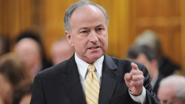 Rob Nicholson arguing in favour of the Omnibus crime bill